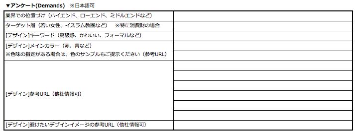 展示・運営代行サービス~ヒアリングシート作成手順 ...